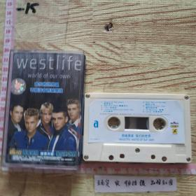 磁带:  西城男孩,我们的世界。有歌词。
