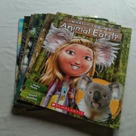 what if you had系列: Animal hair!? animal nose!?animal feet!?animal eyes!?animal hair!?animal ears!?6册合售