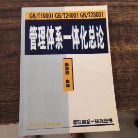 GB/T 19001  GB/T 24001  GB/T 28001管理体系一体化总论