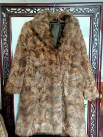 俄罗斯紫貂皮毛大衣(软黄金)