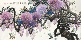 四尺紫藤  黄艺老师的作品 紫气东来