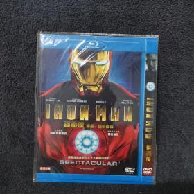 钢铁侠  DVD 光盘 碟片未拆封 外国电影 (个人收藏品) 带国语