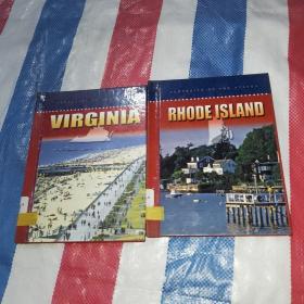 PORTAITS OF THE STATES【VIRGINIA+RHODEISLAND】两本合售