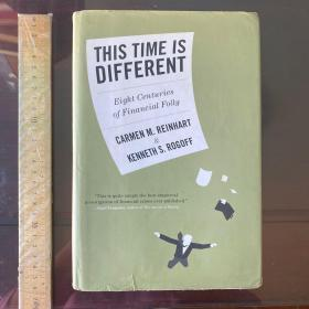 This Time Is Different:Eight Centuries of Financial Folly 这次不一样 八百年金融危机史 英文原版 精装