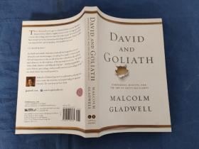 David and Goliath: Underdogs, Misfits, and the Art of Battling Giants 大卫和歌利亚 英文原版平装