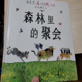 精装儿童绘本,森林里的聚会 2007一版一印