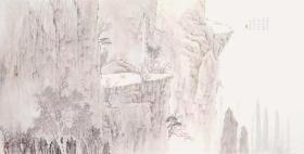 保真书画,丁木友四尺整纸山水画佳作一幅66×130cm,软片。当代优秀画家,丁木友,出生浙江瑞安,现为中国美术家协会会员,中国工笔画学会会员,中国国画家协会理事,中国民族画院画家,瑞安市美术家协会副主席,瑞安市政协委员。