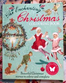 The Enchanting Christmas COLOURING BOOK(美丽的圣诞节场景填色,这本温馨的彩色书以圣诞节为主题,收录了Margarest  Tarrant的许多美丽插图。她是20世纪初一位极具天赋的插画家。)