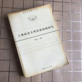 上海政治文明发展战略研究/政治文明建设书系