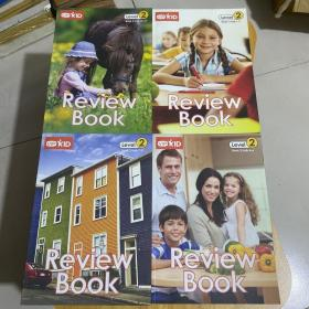 VIPKID Review Book(Leve2 Book1-4 共4本合售)