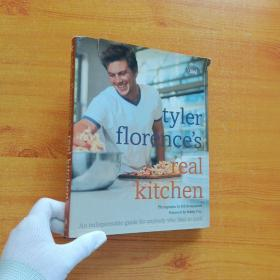 tyler florence's real kitchen  16开 精装