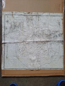 胶县地图(民国二十年)