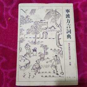 宁波方言词典(现代汉语方言大词典 分卷)
