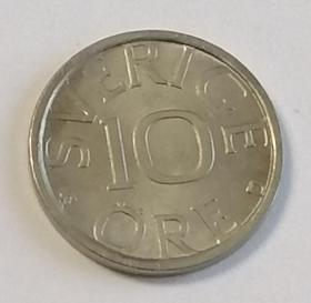 瑞典10欧尔保真