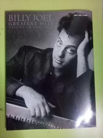 外国原版钢琴乐谱 BILLY JOEL greatest hits volume I  & volume II