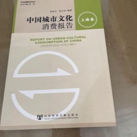 中国城市文化消费报告:上海卷