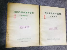 国民经济史参考资料 外国部分 1956年 中南财经学院编