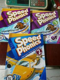 Speed Phonics 3本合售 有划线字迹 和缺页