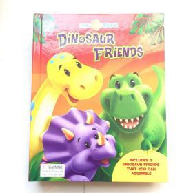 Book and Blocks: Dinosaur Friends  英文低幼书籍