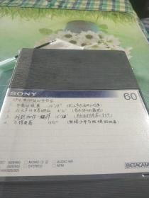 录像带。沪州电台外室节目