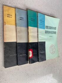 外国政府体制丛书:德意志联邦共和国政府机构与官员制度、英国行政机构和文官制度、美国政府机构与人事制度、罗马尼亚政府机构与干部制度(四册合售)