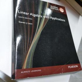Linear Algebra with Applications, Global Edition Leon, Steven J. 9781292070599