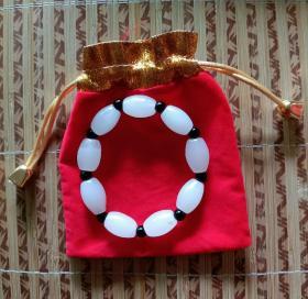 平安护身玉佩 :玉珠手串手镯