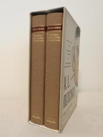 H.L. Mencken: Prejudices: The Complete Series (布面精装,全套二卷)(现货,实拍书影)