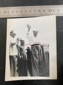 六十年代毛主席视察原版老照片 非常少见应该是未发表的