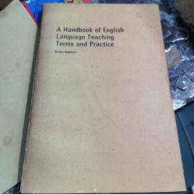 A Handbook of English Language Teaching Terms and Practice