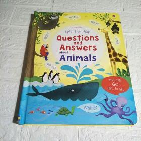 LifttheFlapQuestions&AnswersaboutAnimals优斯伯恩翻翻书:动物问答  精装 大16开 详情看图