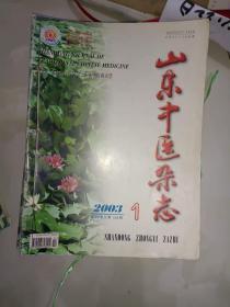 中医书籍《山东中医杂志(2003年全12期)》大16开,铁橱西6--6