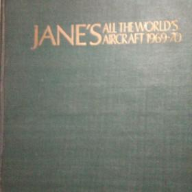 JANE'S ALL THE WORLD'S AIRCRAFT1969-70(英文精装)