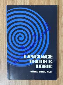 Language, Truth and Logic 语言、真理与逻辑 9780486200101