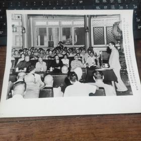 超大尺寸:1954年,周恩来在全国政协常委会上,作关于目前国际局势、外交政策和解放台湾的任务报告