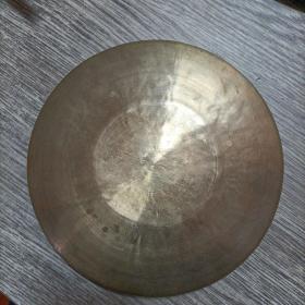 080手锣(河北怀来锣厂制造)锣神,铜制,品佳