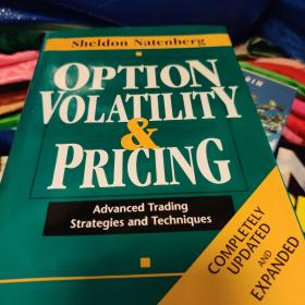 Option Volatility & Pricing:Advanced Trading Strategies and Techniques