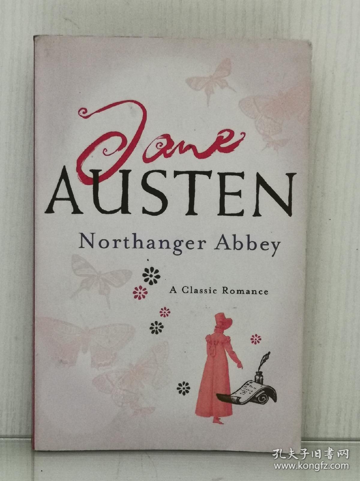 简·奥斯汀 《诺桑觉寺》Northanger Abbey by Jane Austen [ Headline 版 ] (英国文学经典)英文原版书