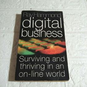 DIGITAL BUSINESS: SURVIVING AND THRIVING IN AN ON-LINE WORLD(平装 32开 详情看图)