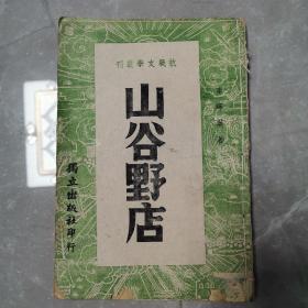 山谷野店(全一册民国版)