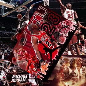篮球海报  乔丹海报(随机发8张)