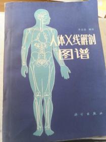 人体X线解剖图谱 1984年一版一印