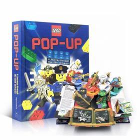 正品清仓数量有限 英文原版 乐高立体书 LEGO Pop-Up 幻影