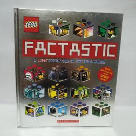 Factastic:Lego Adventure in the Real World 英文原版 乐高STEM科普探索世界大百科