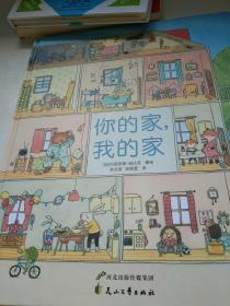 老鼠邮差大绘本:你的家,我的家(超大开本,一千多个细节,提高观察力!)