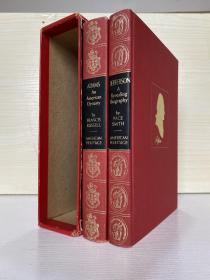 Jefferson-and Adams. Biography  两卷全 有书匣 铜版纸