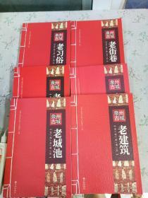 泉州古城文化丛书之 老城池,老街巷,老建筑,老口味,老习俗,老手艺(六册)