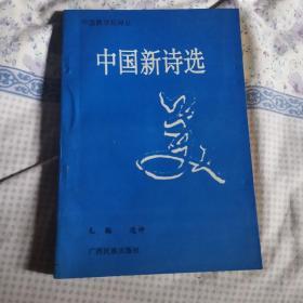 中国新诗选美 签名本