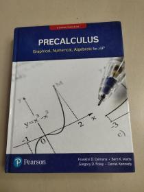 Pearson Precalculus Graphical, Numerical, Algebraic for AP[皮尔森好的图形、数值、代数AP]精装 没勾画