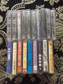 动漫时代 19盒和售 磁带